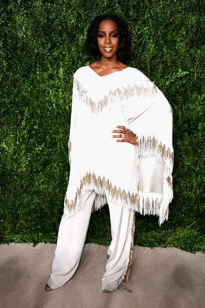 Kelly Rowland Wide Leg Pants