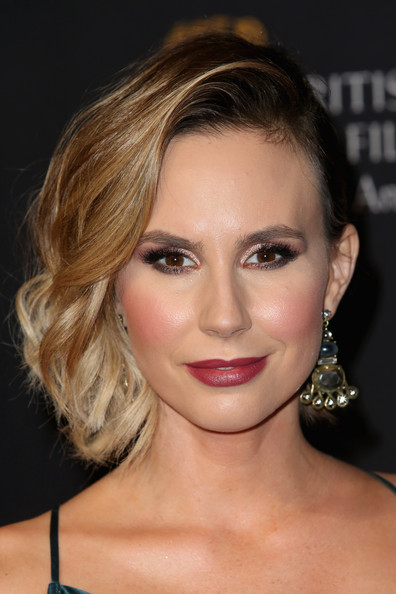 Keltie Knight Short Wavy Cut [hair,face,eyebrow,hairstyle,lip,blond,chin,beauty,eyelash,skin,arrivals,keltie knight,jaguar britannia awards,los angeles,the beverly hilton hotel,beverly hills,california,bafta,united airlines,bbc america]