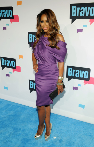 Kenya Moore Tail Dress