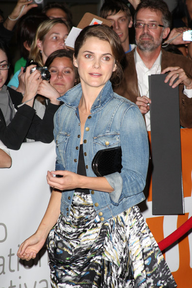 Keri Russell Denim Jacket