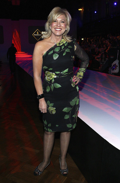 Kerri-Anne Kennerley One Shoulder Dress
