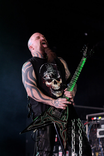 Kerry King Tribal Tattoo - Kerry King Looks - StyleBistro