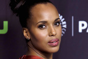 Kerry Washington Hair Knot