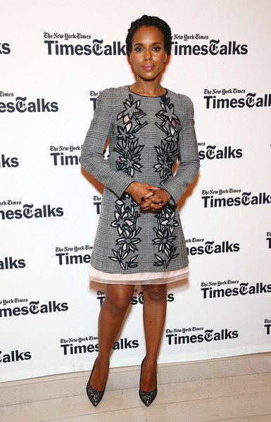 Kerry Washington Evening Pumps
