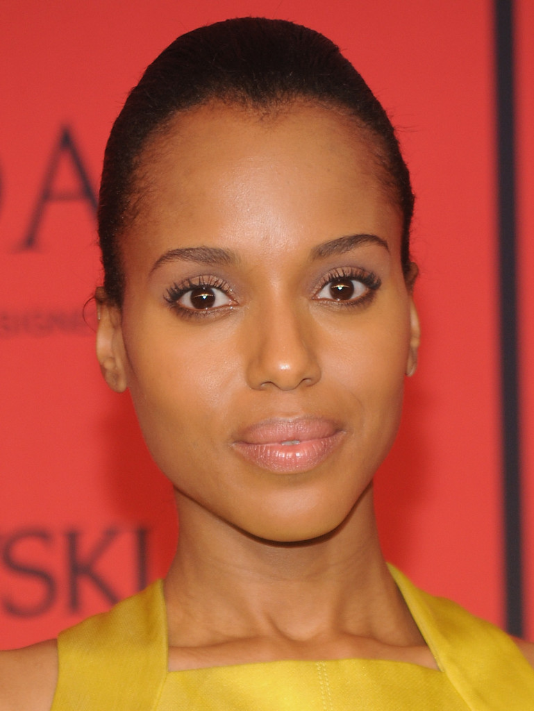 Kerry Washington Nude Lipstick Kerry Washington Makeup Looks