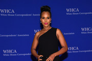 Kerry Washington One Shoulder Dress