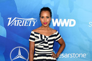 Kerry Washington Striped Dress