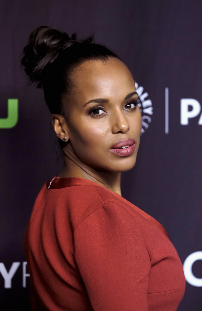 Kerry Washington Hair Knot - Newest Looks - StyleBistro