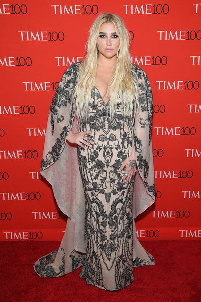 Kesha Beaded Dress [red carpet,red carpet,carpet,clothing,premiere,flooring,dress,fashion,long hair,event,fashion design,kesha,time 100,jazz,new york city,lincoln center]