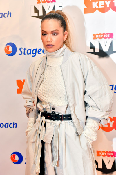 More Pics of Rita Ora Ponytail (5 of 18) - Rita Ora Lookbook - StyleBistro