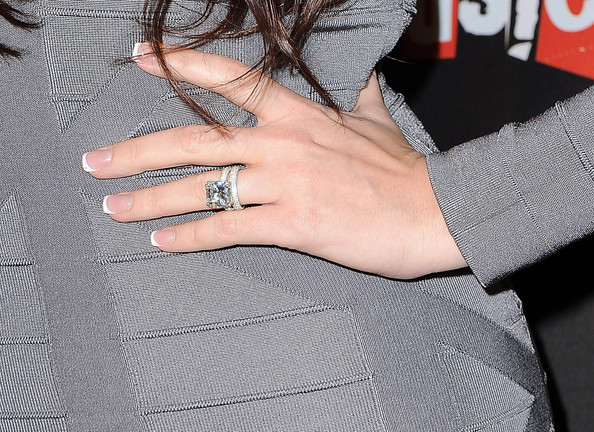 Khloe Kardashian Diamond Ring