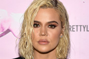 Khloe Kardashian Medium Wavy Cut