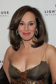 Rosanna Scotto showed off her mid-length bob while attending the POSH Fashion Sale in New York City.