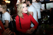 Kiernan Shipka Turtleneck