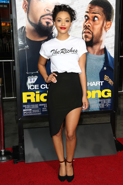 Kiersey Clemons Pumps [ride along,clothing,red carpet,carpet,premiere,flooring,fashion,leg,muscle,dress,footwear,kiersey clemons,universal pictures ride along,california,hollywood,tcl chinese theatre,universal pictures,premiere,premiere]