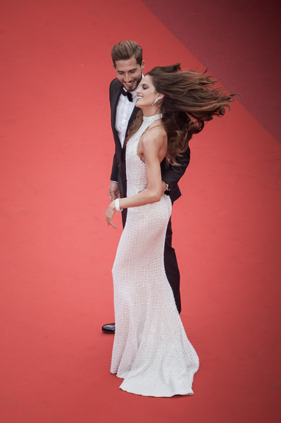 More Pics of Izabel Goulart Long Wavy Cut (1 of 79) - Izabel Goulart Lookbook - StyleBistro [the killing of a sacred deer,image,gown,dress,white,clothing,wedding dress,formal wear,red,fashion,shoulder,lady,izabel goulart,kevin trapp,filters,screening,cannes,red carpet arrivals,cannes film festival,palais des festivals]