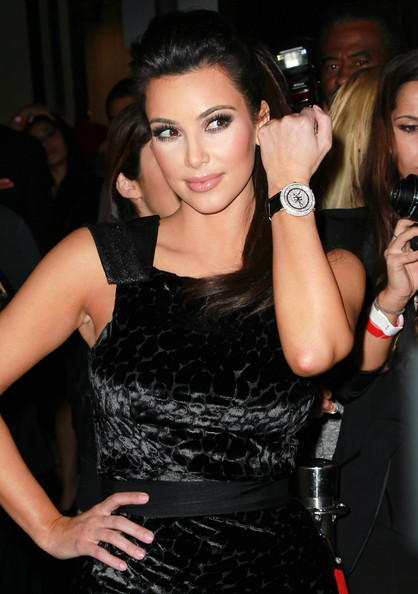 Kim Kardashian Diamond Watch