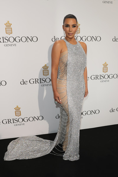 Kim Kardashian Fishtail Dress