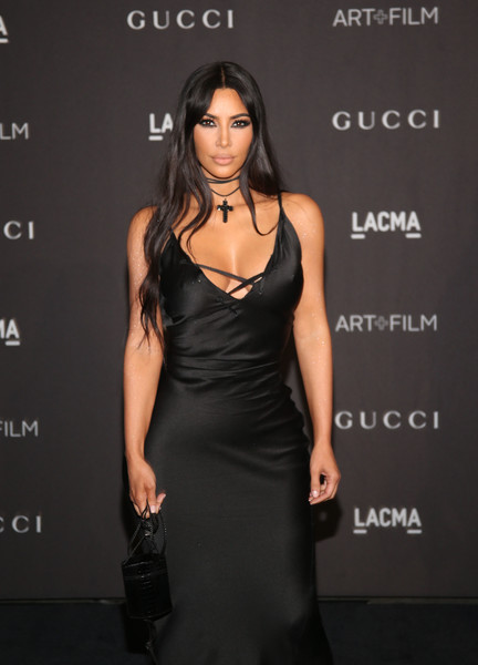 Kim Kardashian Leather Purse
