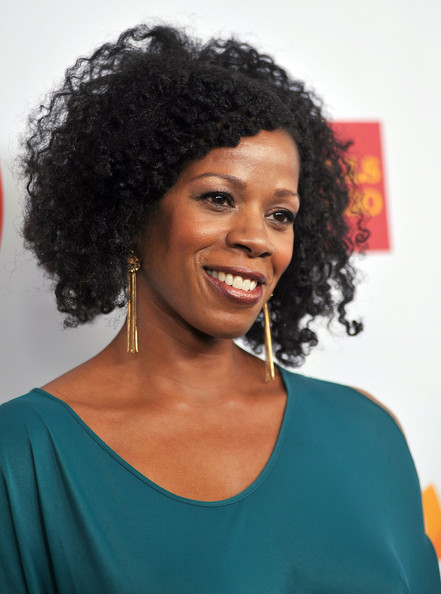 Kim Wayans Gold Dangle Earrings