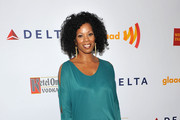 Kim Wayans Metallic Clutch