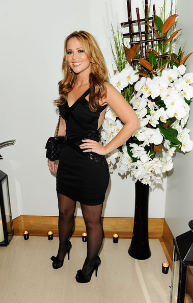 Kimberley Walsh Little Black Dress