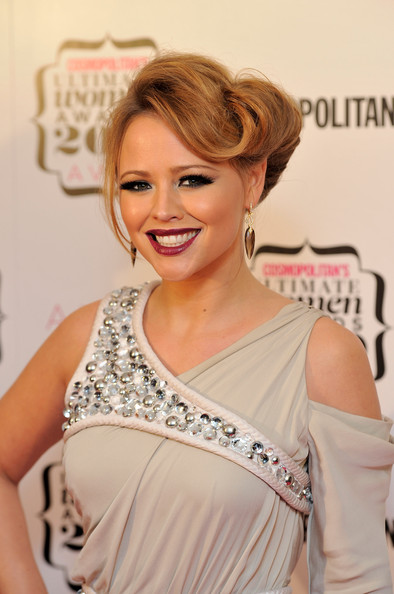 Kimberley Walsh French Twist