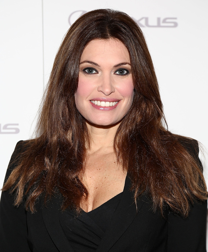 <b>Kimberly Guilfoyle</b> styled her lush locks in a simple center part for the &#39; ... - Kimberly+Guilfoyle+Long+Hairstyles+Long+Center+FiMFGqr65eWx