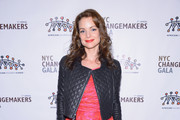 Kimberly Williams-Paisley Leather Jacket