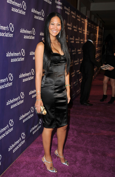 Kimora Lee Simmons Corset Dress [red carpet,clothing,dress,little black dress,cocktail dress,fashion,carpet,shoulder,premiere,event,red carpet,kimora lee,awards,beverly hilton hotel,california,beverly hills,alzheimers association,a night at sardis,fundraiser,dinner]