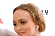 Lily-Rose Depp Cat Eyes