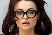 Helena showed off a chic pair of rounds eye glasses while hitting the BFI London Film Festival.