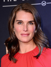 Brooke Shields looked lovely with her shoulder-length waves at the 'Kingsman: The Secret Service' premiere.