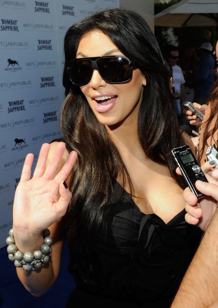 Designer Shield Sunglasses  more pics of kim kardashian designer shield sunglasses 2 of 27