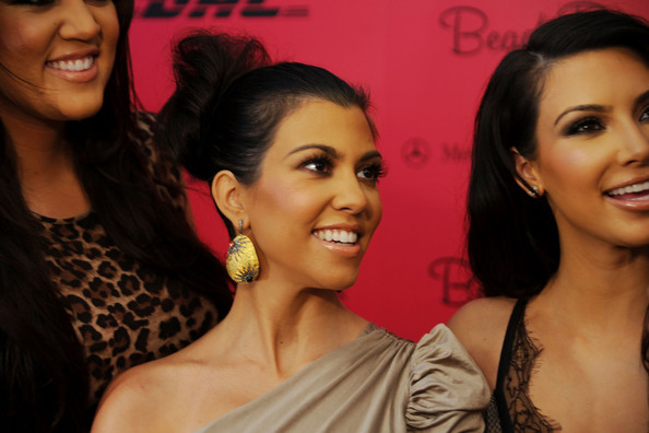 Kourtney Kardashian Dangle Decorative Earrings