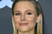 Kristen Bell Side Parted Straight Cut