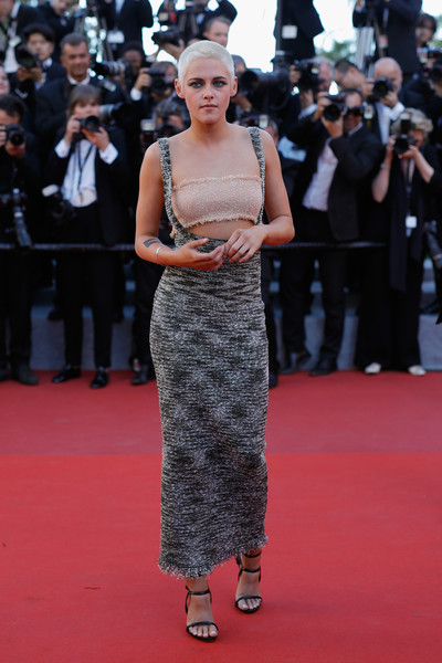 Kristen Stewart Pencil Skirt [flooring,fashion model,fashion,carpet,red carpet,gown,haute couture,girl,premiere,event,red carpet arrivals,kristen stewart,beats per minute,screening,cannes,france,cannes film festival,palais des festivals]