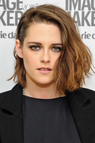 Kristen Stewart Bob [hair,face,hairstyle,eyebrow,shoulder,blond,chin,brown hair,lip,beauty,marie claire hosts inaugural image maker awards,california,los angeles,chateau marmont,kristen stewart,marie claire]