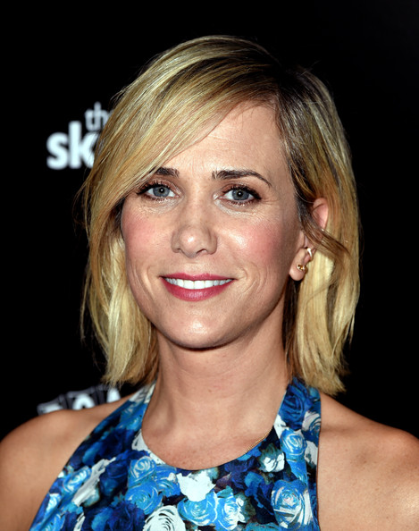 Kristen Wiig Bob [the skeleton twins,hair,face,hairstyle,blond,eyebrow,chin,lip,head,beauty,cheek,kristen wiig,california,los angeles,arclight theatre,roadside attractions,red carpet,premiere]