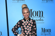 Kristin Chenoweth Embroidered Dress