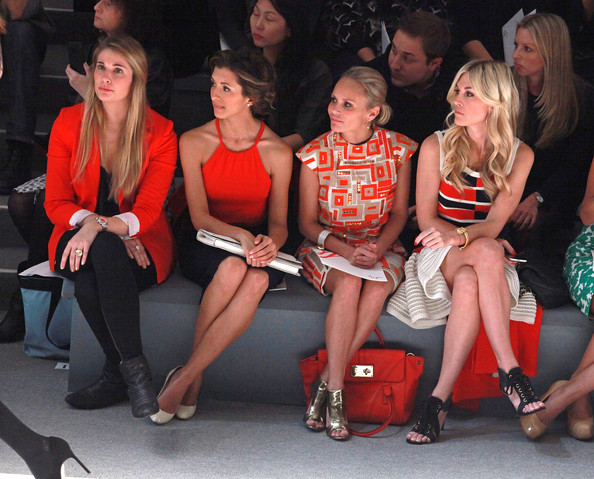 Milly By Michelle Smith - Front Row - Fall 2012 Mercedes-Benz Fashion Week