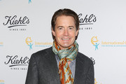Kyle MacLachlan Patterned Scarf