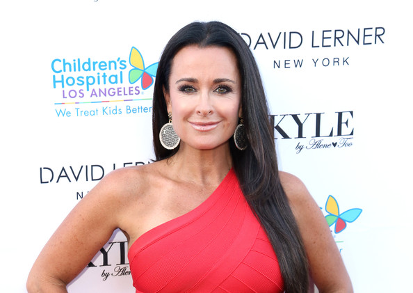 More Pics of Kyle Richards Bandage Dress (1 of 15) - Bandage Dress Lookbook - StyleBistro