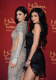 Kylie Jenner attended the unveiling of her wax figure at Madame Tussauds wearing a luxurious gold quartz watch.