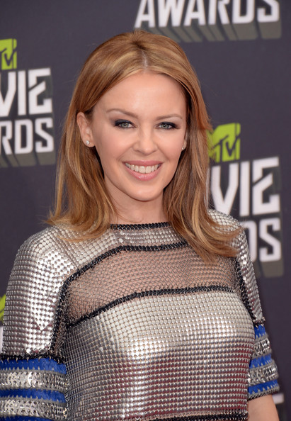 Kylie Minogue Layered Cut