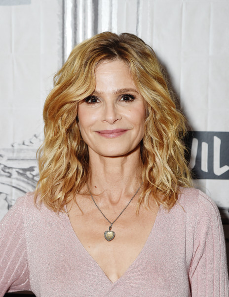 Kyra Sedgwick Heart Pendant [ten days in the valley,show,hair,blond,face,hairstyle,layered hair,eyebrow,long hair,beauty,chin,brown hair,kyra sedgwick,build presents,new york city,build studio,build series]