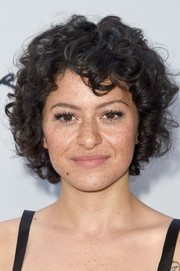 Alia Shawkat looked darling with her curly 'do at the LA Film Festival premiere of 'Paint It Black.'