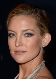 Kate Hudson went for classic styling with a pair of diamond studs.