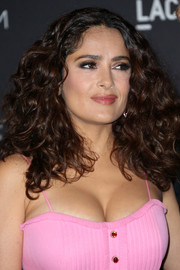 Salma Hayek wore gorgeous voluminous curls to the LACMA Art + Film Gala.