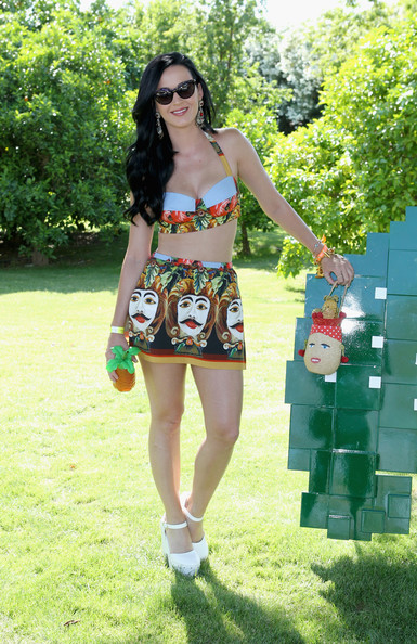 Katy Perry at the Lacoste Pool Party